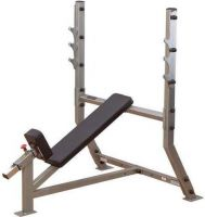 - Body - Solid Pro Club Line Incline Olympische Halterbank