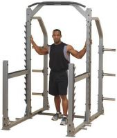 - Body - Solid Pro Club Line SMR1000 Multi Squat Rack